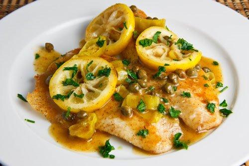 Food - Tilapia Piccata