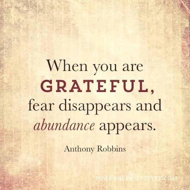 Inspiration - Grattitude